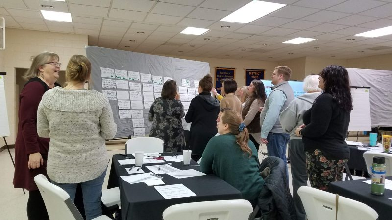 Patrick County residents prioritize goals together